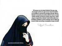 Gambar Kartun Muslimah Bercadar Bidadari Syurga