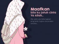 Gambar Kartun Muslimah Bercadar Jatuh Cinta