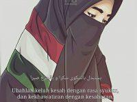 Gambar Kartun Muslimah Bercadar Palestina