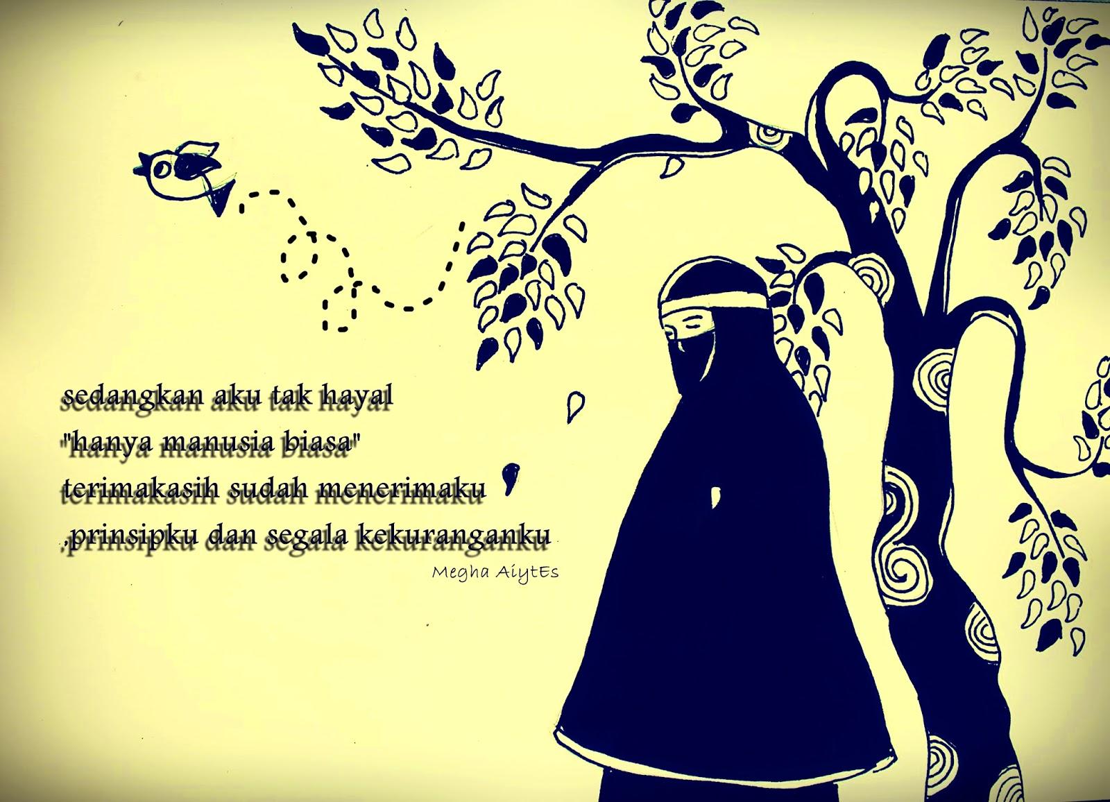 Gambar Kartun Muslimah Bercadar Prinsip Seorang Muslimah Kartun