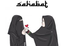 Gambar Kartun Muslimah Bercadar Sahabat