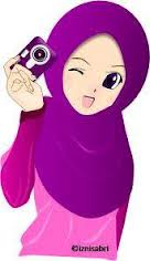Gambar Kartun Muslimah Lucu Bawa Kamera