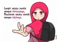 Gambar Kartun Muslimah Lucu Berhijab