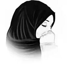Gambar Kartun Muslimah Lucu Penghayatan