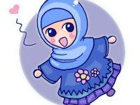 Gambar Kartun Muslimah Lucu So Cute