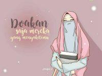 Gambar Kartun Muslimah Suka Memaafkan