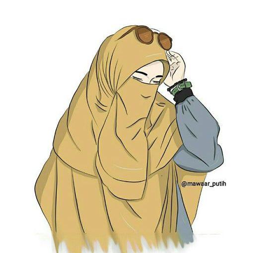 Hukum Mengenakan Profil Kartun Muslimah Bercadar