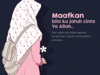 Kartun Muslimah Jatuh Cinta Maafkan Bila ku Jatuh Cinta Ya Allah
