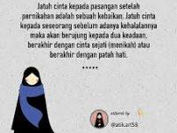 Kartun muslimah jatuh cinta jatuh cinta pada pasangan halal