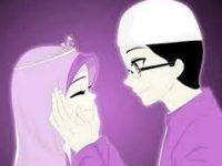 Kartun Muslimah Jatuh Cinta Mesra