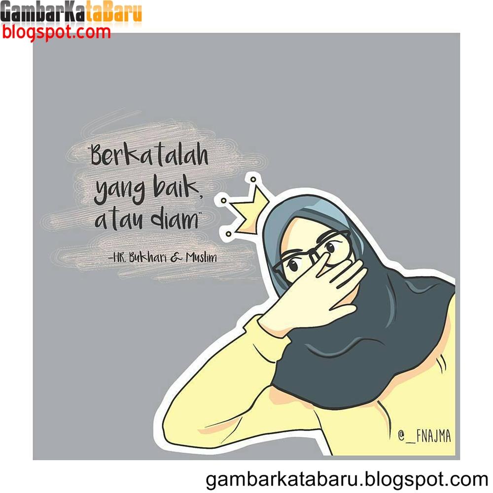 Kata-kata Muslimah tentang Berkata Baik atau Diam