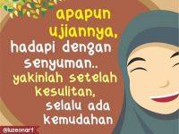 Kata-kata Muslimah tentang Hadapi dengan Senyuman