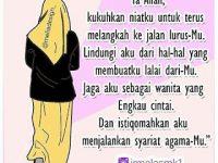 Kata-kata Muslimah tentang Istiqomah