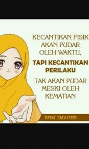 Kata-kata Muslimah tentang Kecantikan Akhlak