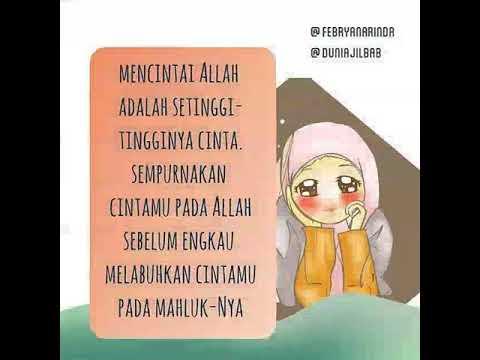 Kata-kata Muslimah tentang Mencintai Allah