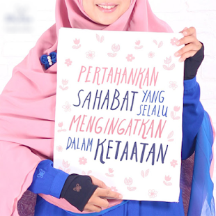 Kata Kata Muslimah Tentang Sahabat Kartun Muslimah