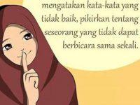 Kata-kata Muslimah tentang Sebelum Berbicara