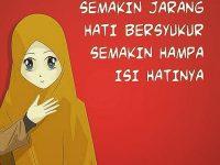 Kata-kata Muslimah tentang Syukur