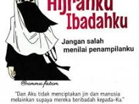 Gambar Kartun Muslimah Bercadar Hijrah