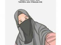 Gambar Kartun Muslimah Bercadar Tak Sesholihah Fatimah