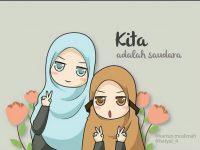 Gambar Kartun Muslimah Lucu Sahabat