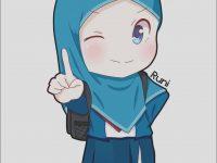 100 Foto Gambar Kartun Muslimah Berjilbab