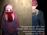 Kartun Muslimah Jatuh Cinta Mulia