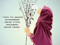 Kartun Muslimah Jatuh Cinta bahwa Cinta Itu Anugerah