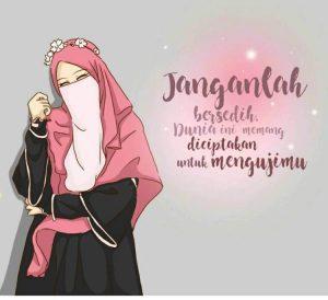 Kata-kata Muslimah tentang Jangan Bersedih