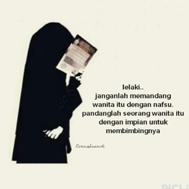 Kata-kata Muslimah tentang Lelaki