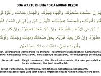 Doa Setelah Shalat Dhuha