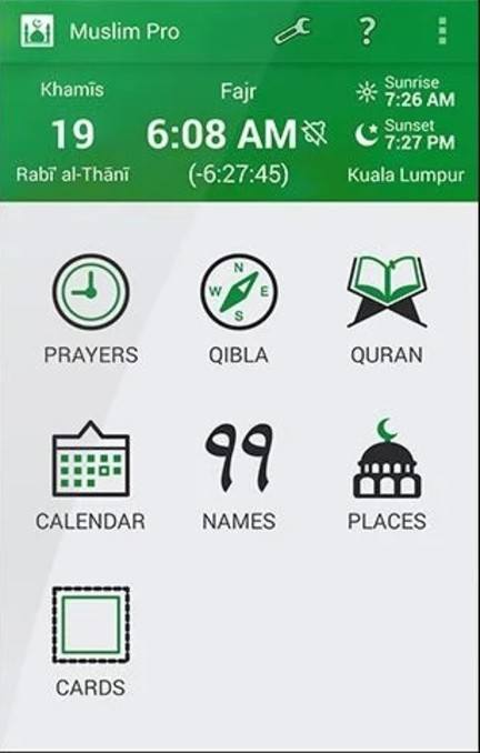 Muslim Pro Al Quran android