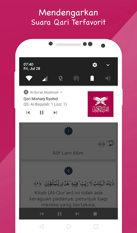 al quran muslimah Indonesia aplikasi alquran android
