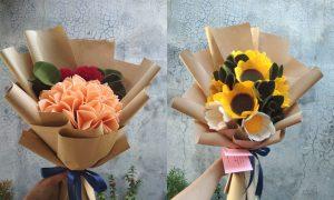 Harga Buket Bunga Flanel Semarang